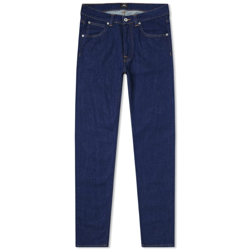 ED-85 SLIM TAPERED DROP CROTCH POWER BLUE